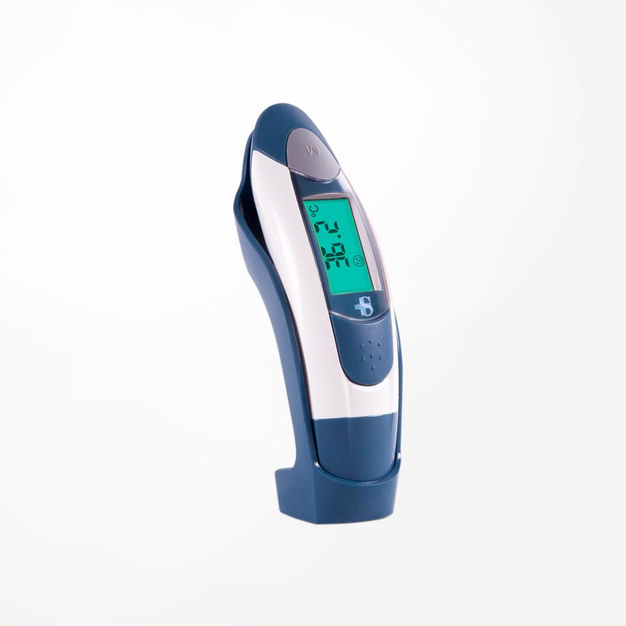Termómetro digital frente oído ambiente